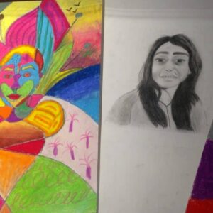Drawings by a 16 years old child