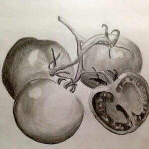 Drawing by a 10 years old child