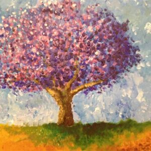 Oil painting by Mara, 11 years old