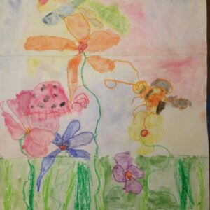 Drawing by Eva, 4 years old