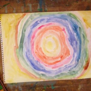 Artwork by Eva 4 years old child