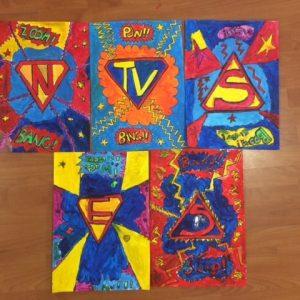Superheroes Art Club