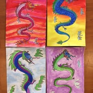 Art Club artworks
